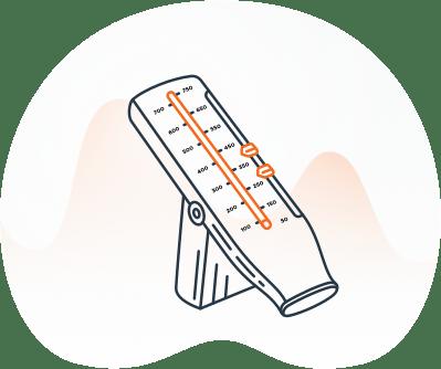 Image: Asthma Peak Flow Meter