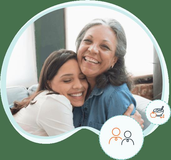 Image: Women Hugging