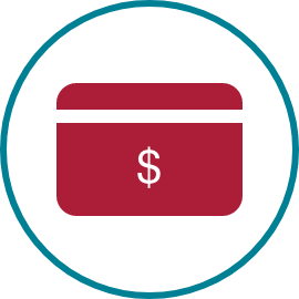 Co-pay card icon