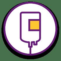 Icon: Intravenous Administration of BENLYSTA