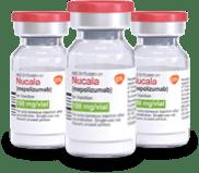 Lyophilized powder vials image