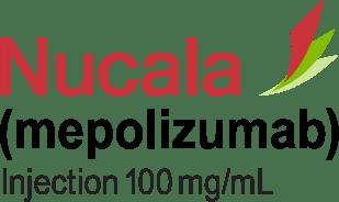 NUCALA (mepolizumab) 100 mg/mL injection logo