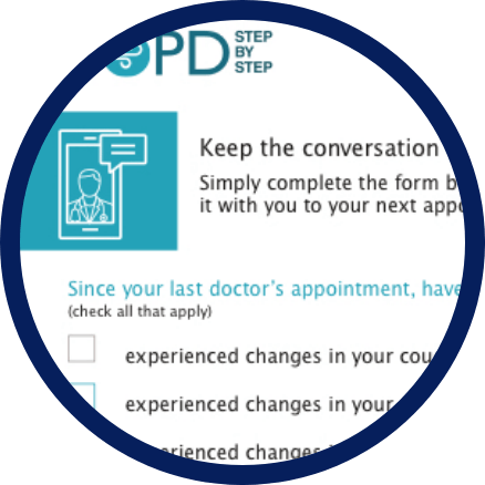 COPD doctor discussion guide checklist