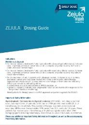 ZEJULA (niraparib) Dosing Guide