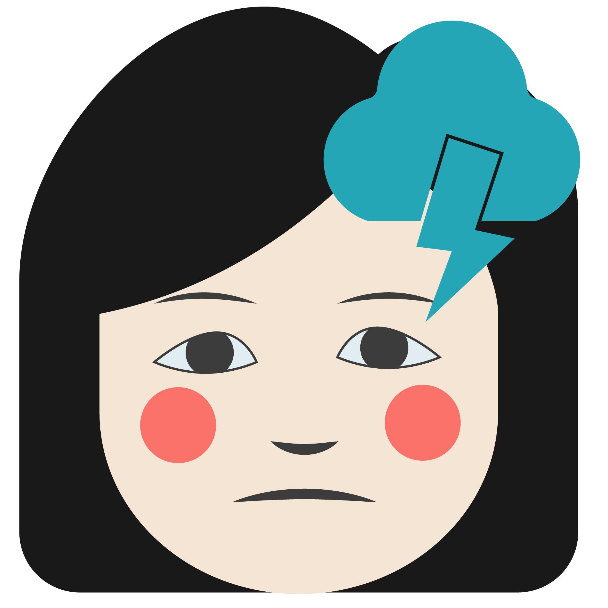 Icon mögliche Lupus Ursache Stress