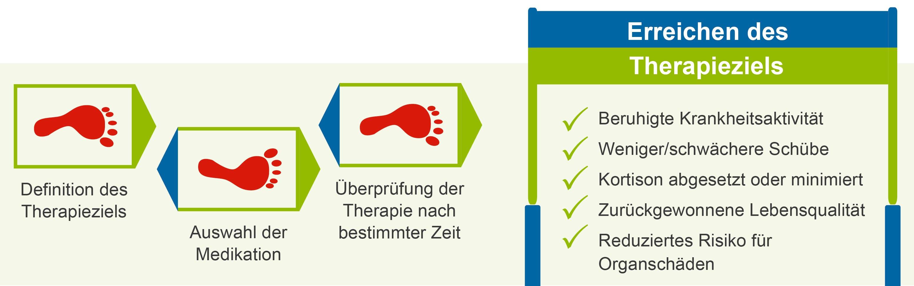 Grafik Lupus erythematodes Therapie