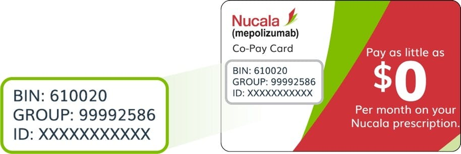 Image: Using the NUCALA Voucher Card