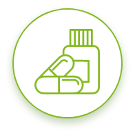 Steroid reduction icon
