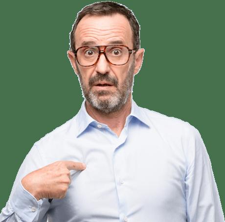 man with shingles symptoms