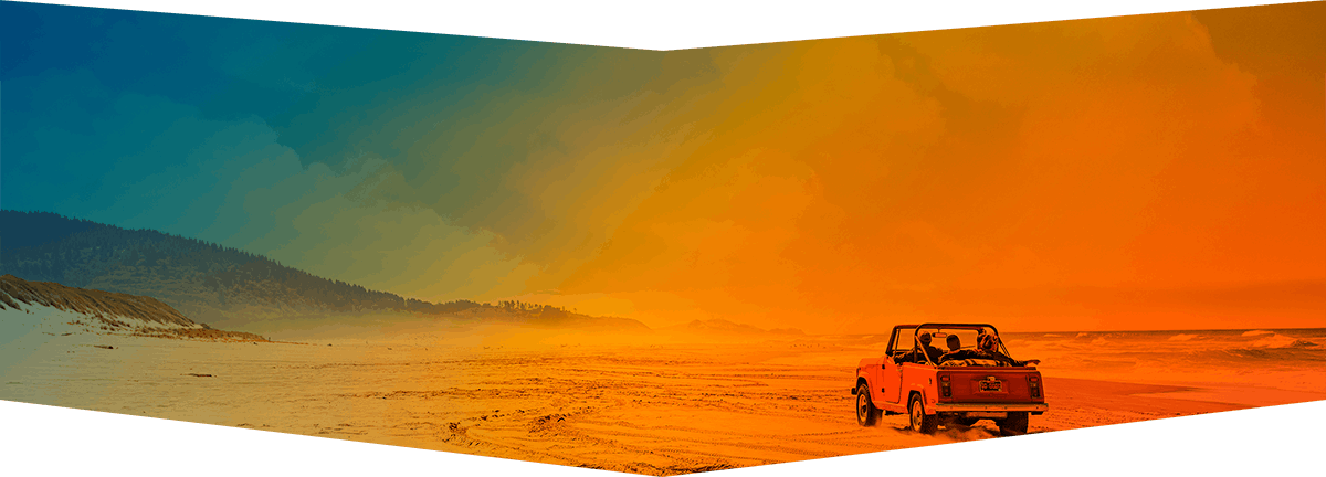 Image: Truck on the Beach