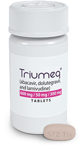 Image of TRIUMEQ HIV-1 Medication