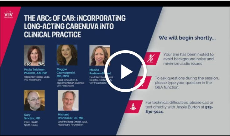 The ABCs of Long-acting CAB + RPV