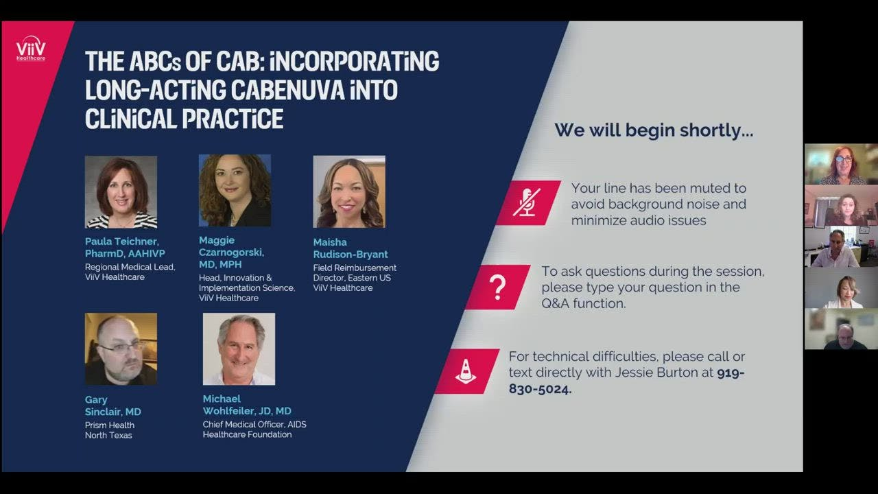 The ABCs of CAB: Incorporating Long-Acting Cabenuva into Clinical Practice